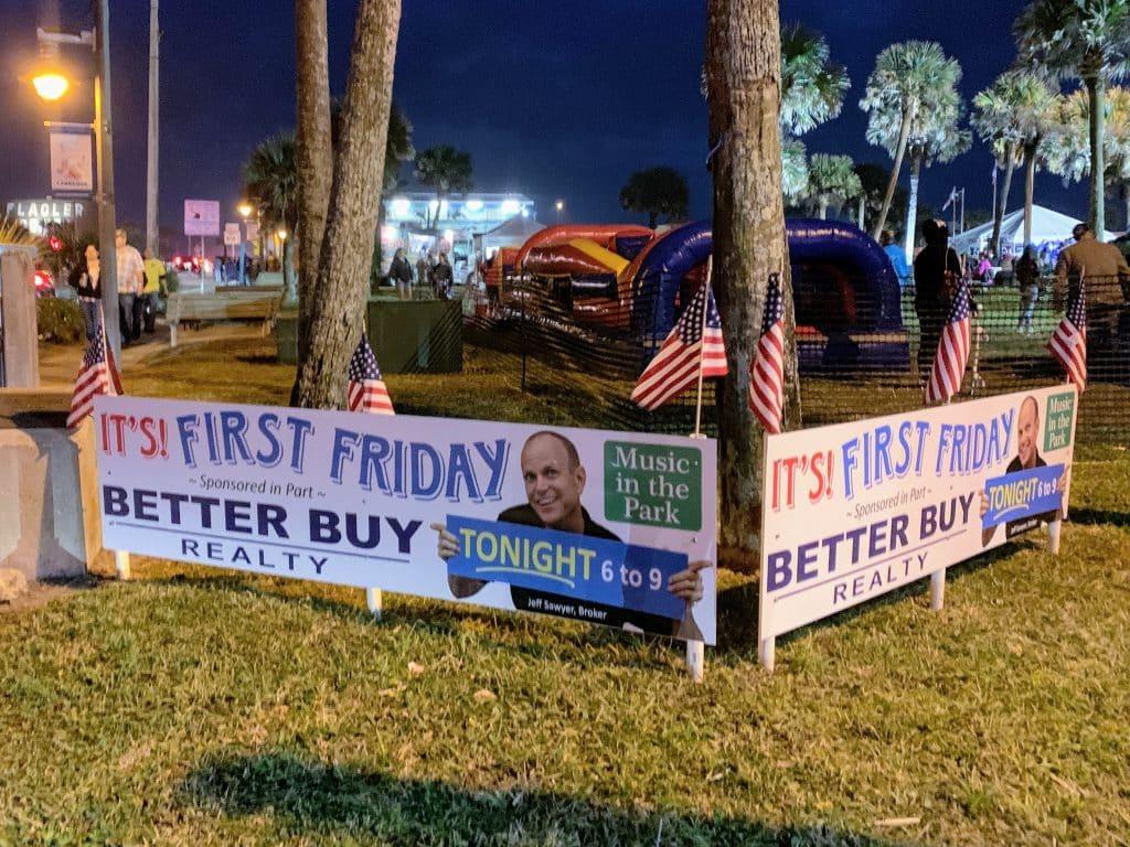First Friday in Flagler Beach FL