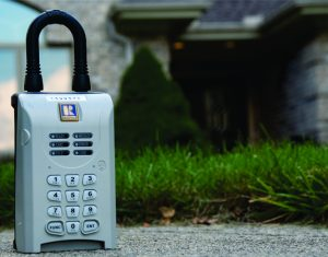 Lockboxes used by real estate agents in Flagler County